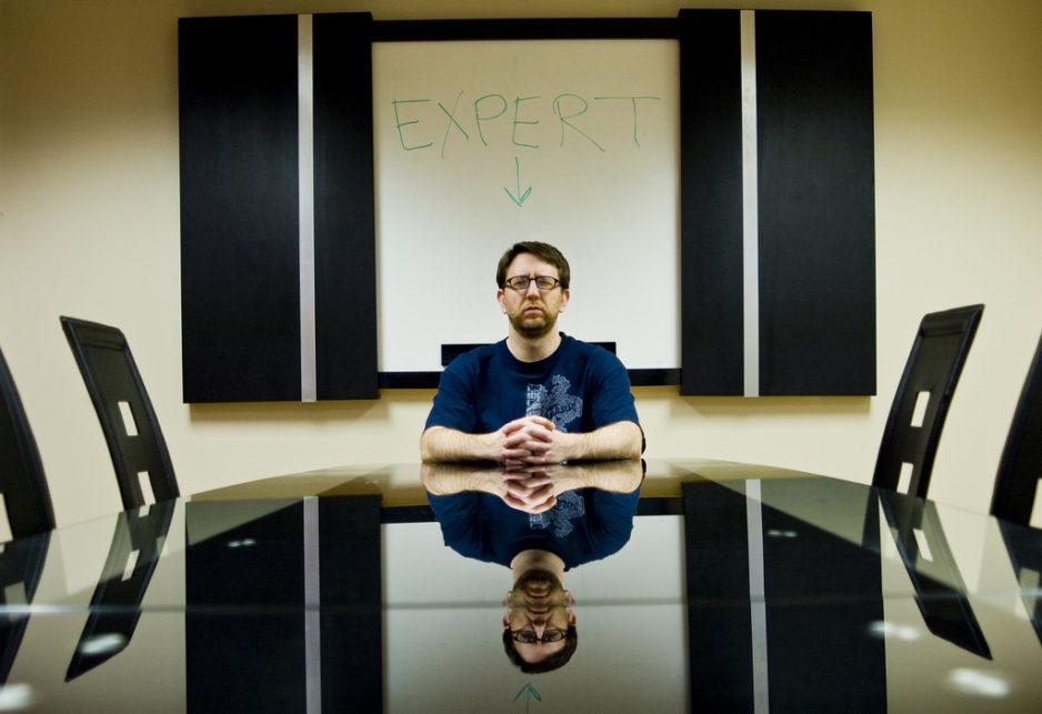 """The self-styled """"Guru"""" or """"Expert"""" complex."""